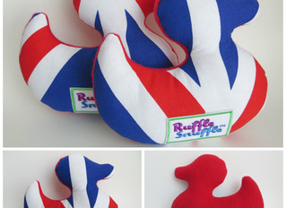 Go Quackers for Team GB Ruffle Snuffle Ducks!