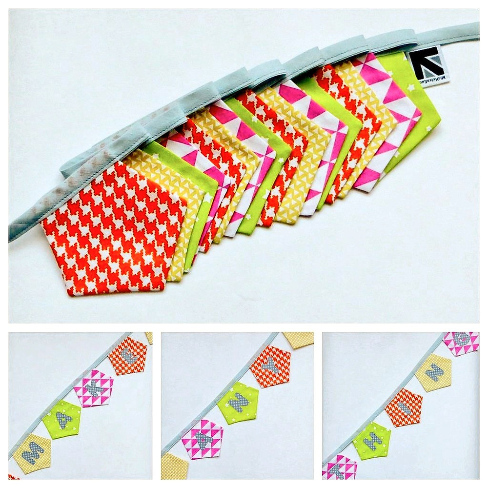 #MakeAnything bunting by MisHelenEous