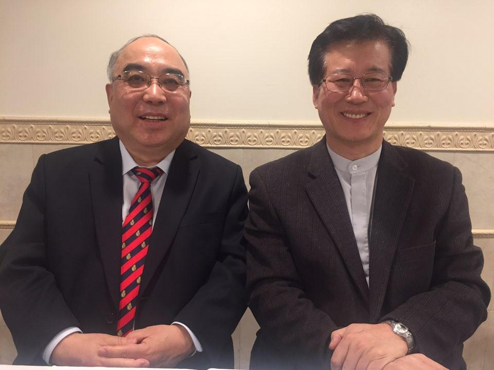 이왕복 목사와 뉴욕영안교회 김경열목사