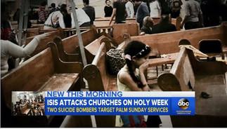 """종려주일 테러 공격을 기도와 인내로 이겨내는 이집트 콥트교회 -  44명 사망, 126명 부상 중에도 """"사랑과 평화 전하는 계기로 삼을 터"""""""