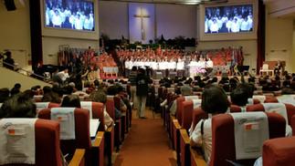 할렐루야 대뉴욕복음화대성회 은혜 중 성료 -  연인원 4천여 성도 참석 성령충만한 삶 다짐