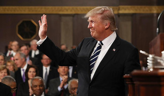 트럼프 대통령 첫 국회연설 희망과 연합 강조 -  우리는 하나님의 백성, 미국을 위해 담대한 꿈을꾸자