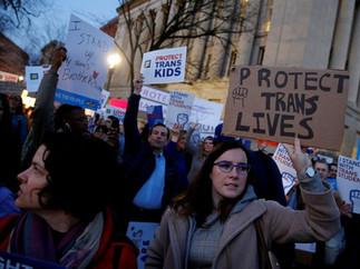 트럼프 행정부 성전환자 화장실 정책을 공식적 폐지 -  2월 10일 O'Connor 정책 지지 이후 10일만에 속전속결