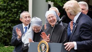 트럼프 행정부 종교적 자유 존중 지침 발표 오바마 시대 종교적 차별정책 전면 재조정