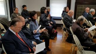 로고스교회 초청 원로성직자회 3월 정례예배 -   원로들의 사랑방 역할 감당하는 교회 지향