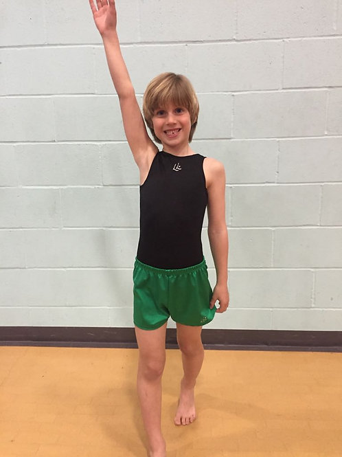 Boys Green Shorts