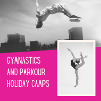 Gymnastics and Parkour Camps - Come and have some fun with us in the gym!