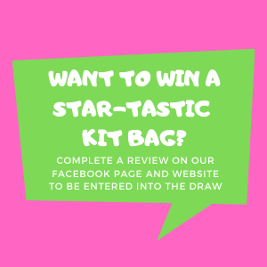 Be in with the chance to win a Star-Tastic Kit Bag!