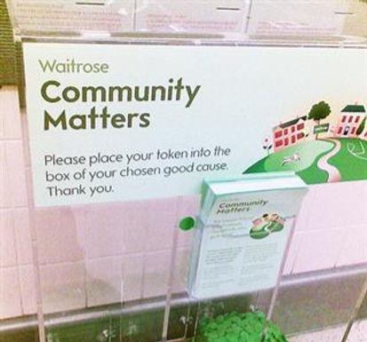 Help us be a Community Matters Winner!