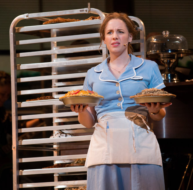 Waitress Production Photo