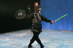 Macbeth dueling Macduff