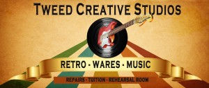 tweed creative studios, uki recording artists, rehearsal rooms, music tuition
