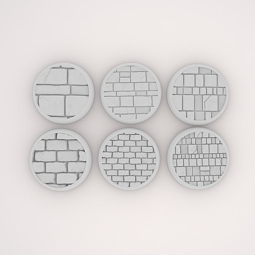 Brick Assortment 1 Bases, 6 Pack