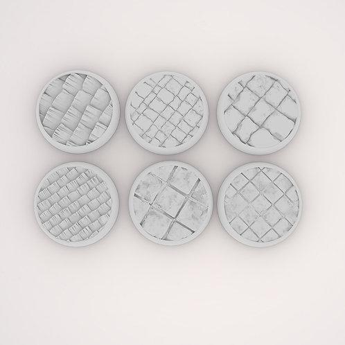 Stone Assortment Bases, 6 Pack