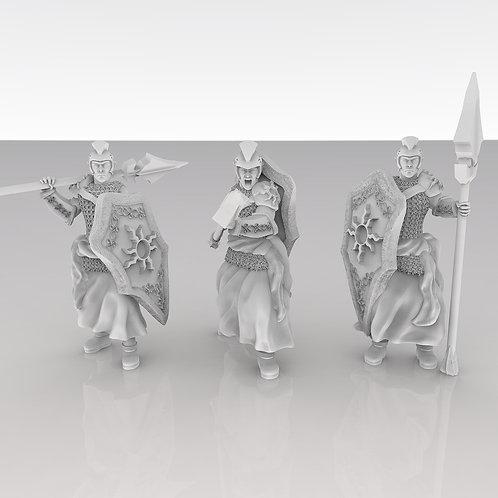 Sun Elf Spearmen Squad