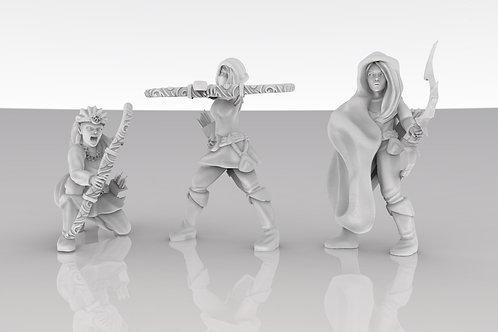 Sun Elf Archer Squad