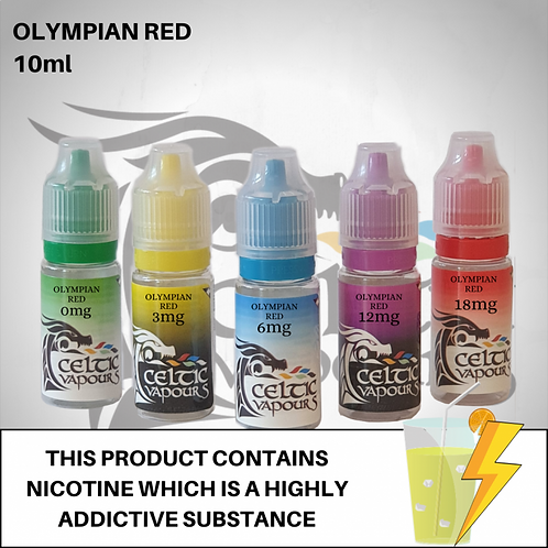 Olympian Red 10ml - Celtic Vapours