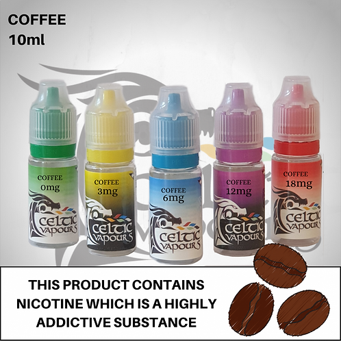 Coffee 10ml - Celtic Vapours