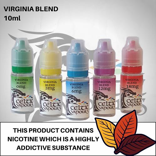 Virginia Blend 10ml - Celtic Vapurs