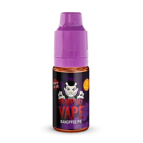 Banoffee Pie 10ml - Vampire Vapes