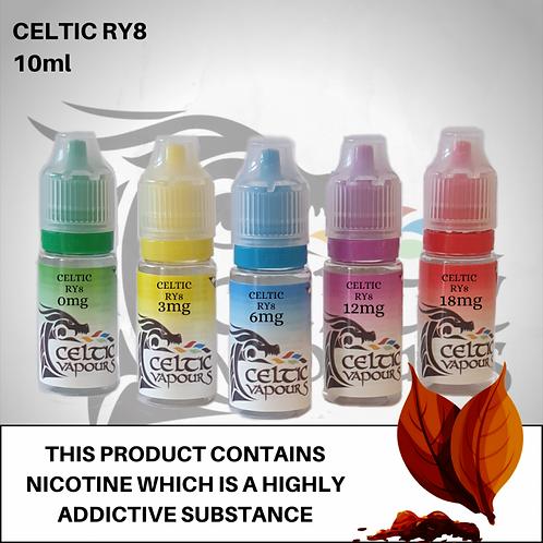 Celtic Ry8 10ml - Celtic Vapours