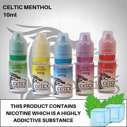 Celtic Menthol 10ml - Celtic Vapours