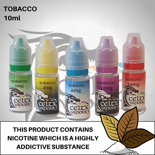 Tobacco 10m - Celtic Vapours