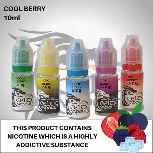 Cool Berry 10ml - Celtic Vapours