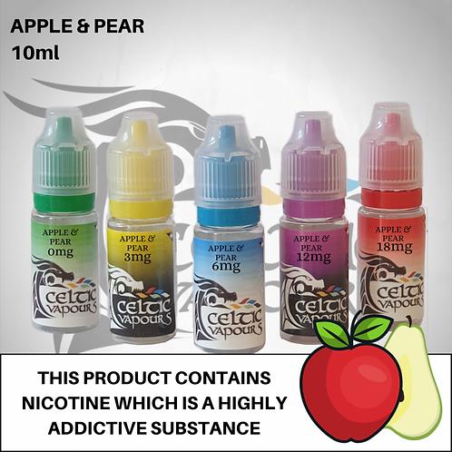 Apple & Pear 10ml - Celtic Vapours