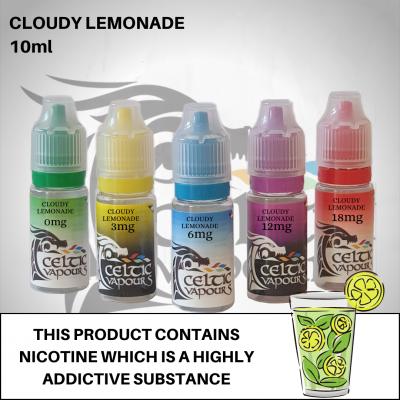 Cloudy Lemonade 10ml - Celtic Vapours