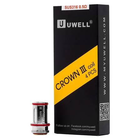 Crown III (3) Coils - Uwell