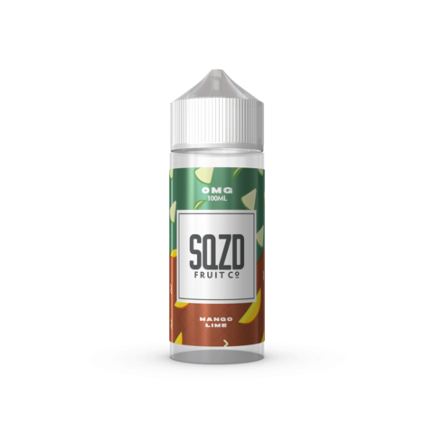 Mango & Lime 100ml - SQZD