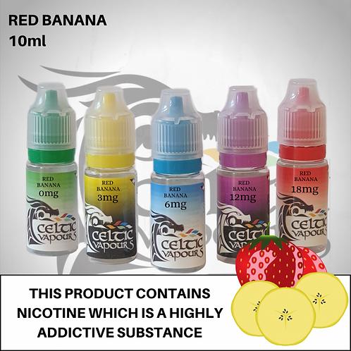 Red Banana 10ml - Celtic Vapour