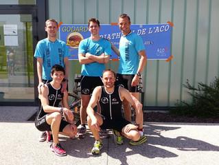 Triathlon par équipe de St Marcellin