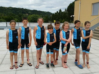 Triathlon de Saint Romain en Gal