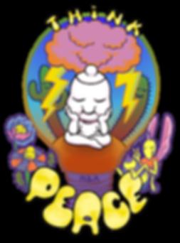 Psychedelic Desert Sticker Design