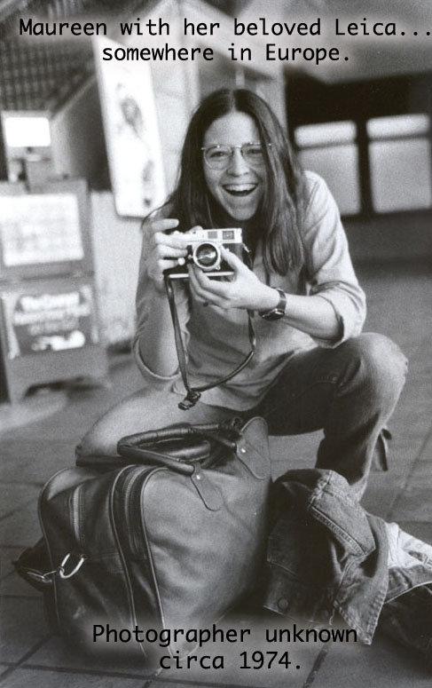 The photographer, circa 1974