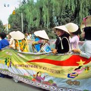 Vietnamese Women March