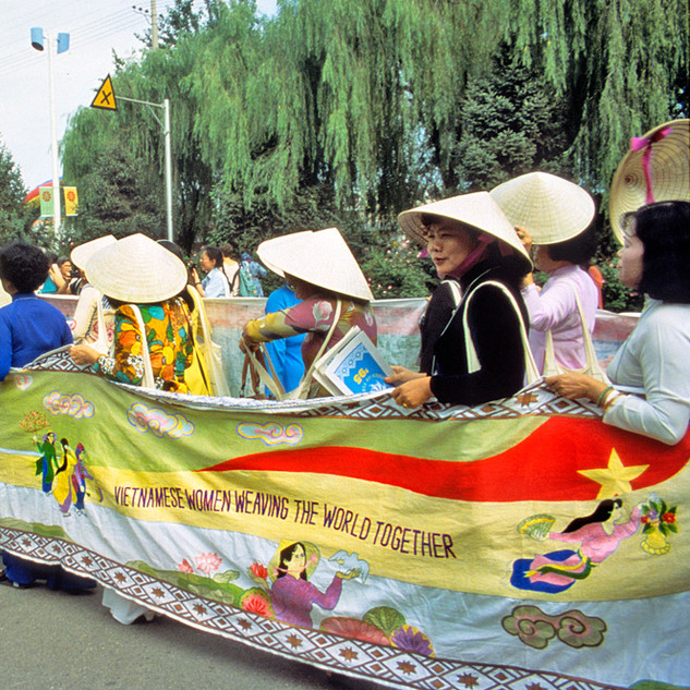 Vietnamese Women March