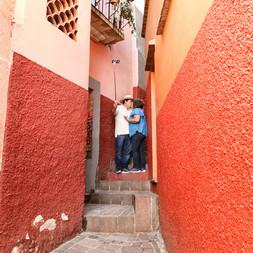 Lovers' Alley, Guanajuato