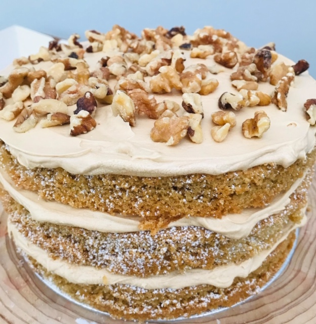 Coffee and Walnut Cake by Mary's Kitchen