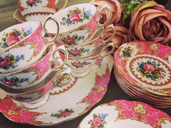 Lady Carlyle Royal Albert Tea Cups for Hire