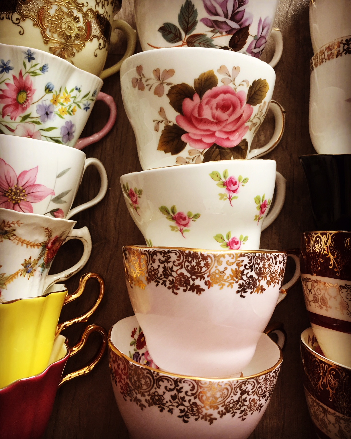 Tea Cup China Hire