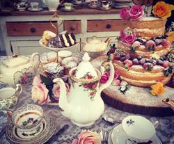 Wedding Afternoon Tea and China