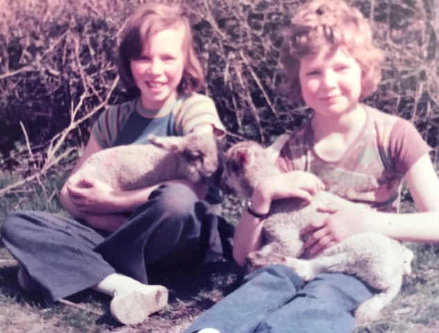 Every spring, we children were given the orphaned lambs to look after.