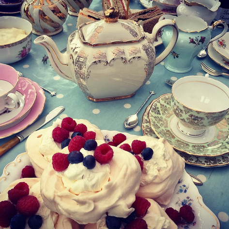 Vintage Afternoon Tea and China
