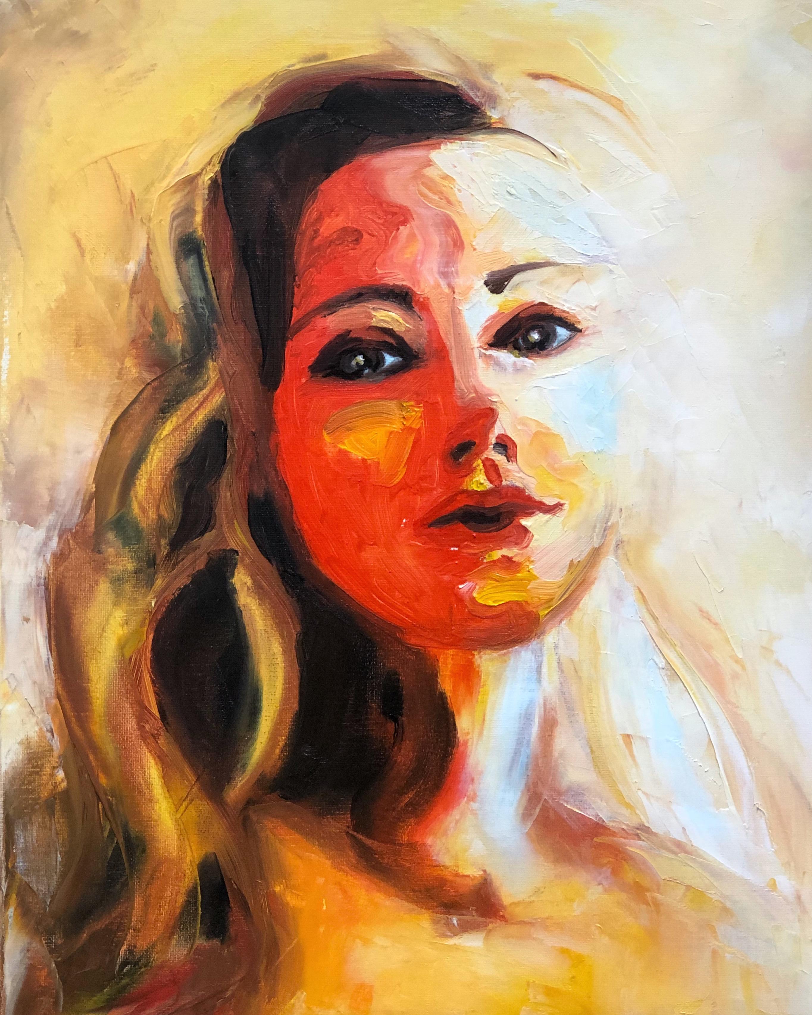 artist self-portrait