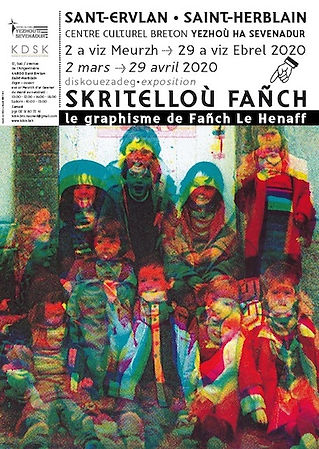 Affiche expo_Skritelloù Fañch_maketenn