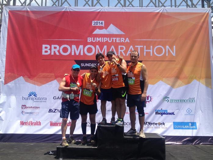 """Bromo Marathon - """"Che"""" e a busca da Meta perdida!"""