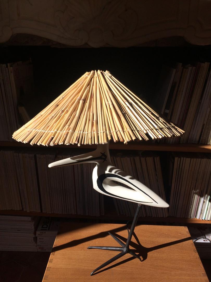 Lampe_oiseau_de_Roger_Capron_abat_jour_p